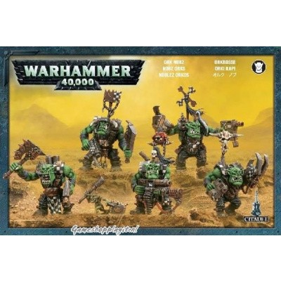 Foto van Ork Nobz Warhammer 40k