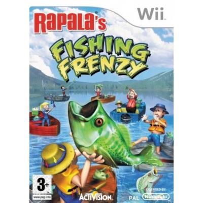 Rapala's Fishing Frenzy WII