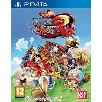 Foto van One Piece Unlimited World Red PSVITA