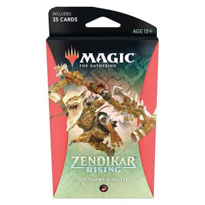 Foto van TCG Magic The Gathering Zendikar Rising Red Theme Booster MAGIC THE GATHERING