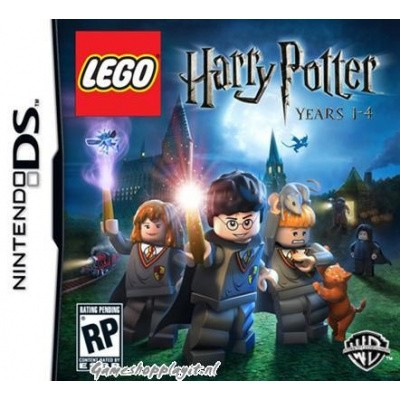 Lego Harry Potter Jaren 1-4 NDS