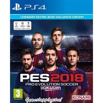 Foto van Pro Evolution Soccer 2018 (Pes 2018) Legendary Edition PS4