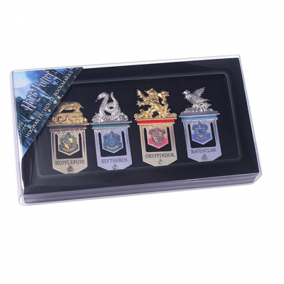 Harry Potter - Hogwarts House Bookmarks MERCHANDISE