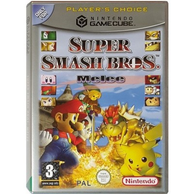 Foto van Super smash bros. Melee (Player's choice) NGC