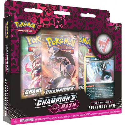 TCG Pokémon Champion's Path Pin Collection - Spikemuth Gym POKEMON