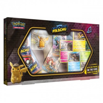 Foto van TCG Detective Pikachu On The Case Figure Collection POKEMON
