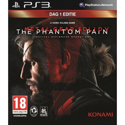 Metal Gear Solid V: Phantom Pain (Day One Edition) PS3