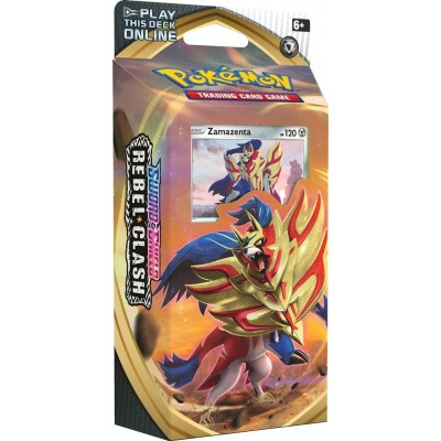 Foto van TCG Pokémon Sword & Shield Rebel Clash Theme Deck - Zamazenta POKEMON