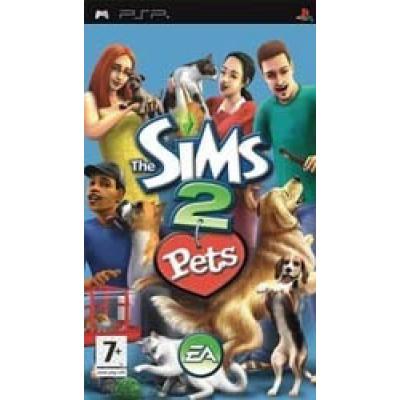 Foto van De Sims 2 Huisdieren PSP
