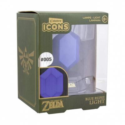 The Legend of Zelda: Blue Rupee Icon Light MERCHANDISE