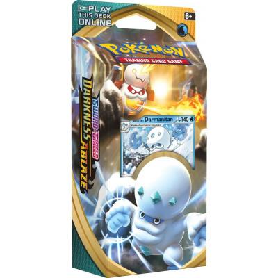 Foto van TCG Pokémon Sword & Shield Darkness Ablaze Theme Deck - Galarian Darmanitan POKEMON