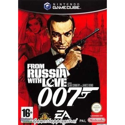 007 From Russia With Love Nintendo GameCube