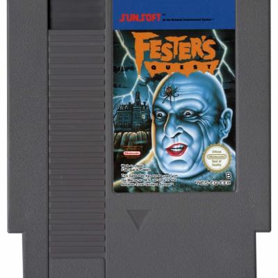 Foto van Fester's Quest (Losse Cassette) NES