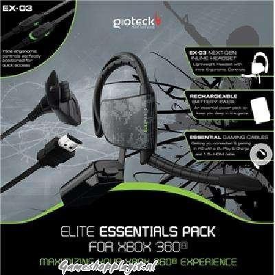 Foto van Gioteck Elite Essentials Pack XBOX 360