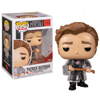 Foto van Pop! Movies: American Psycho - Patrick Bateman With Axe FUNKO
