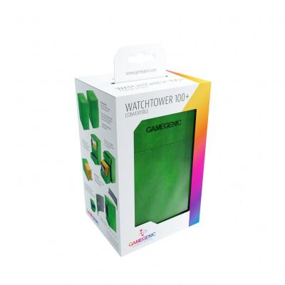 TCG Deckbox Watchtower 100+ - Green DECKBOX