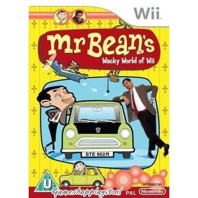 Foto van Mr Bean's Wacky World Of Wii WII