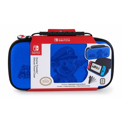 Big Ben, Official Mario Travel Case Nintendo Switch - Blue SWITCH