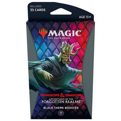 Foto van TCG Magic The Gathering D&D Forgotten Realms Black Theme Booster MAGIC THE GATHERING