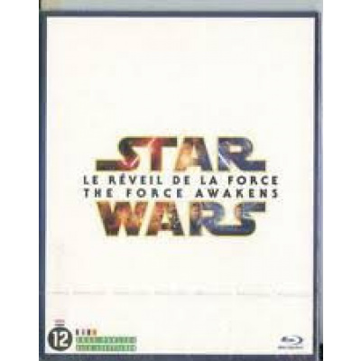 Foto van Star Wars The Force Awakens BLU-RAY MOVIE