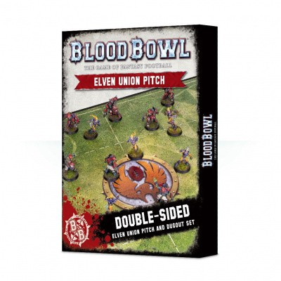 Blood Bowl: Elven Union Pitch WARHAMMER AOS