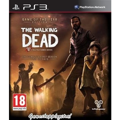 Foto van The Walking Dead Game Of The Year Edition PS3