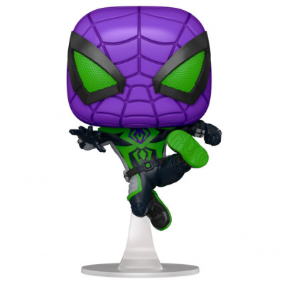 Pop! Marvel Spider-Man: Miles Morales - Miles Morales Purple Reign Suit FUNKO