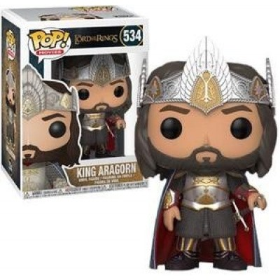 Foto van Pop! Movies: The Lord Of The Rings - King Aragorn Exclusive FUNKO