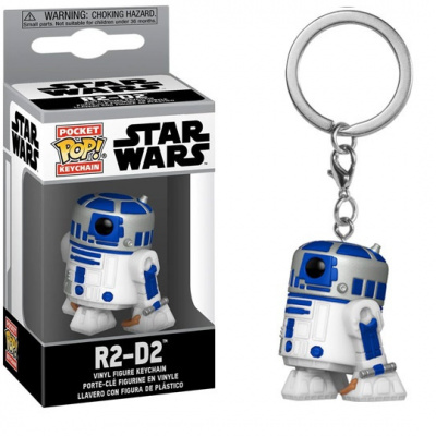 Foto van Pocket Pop! Keychain: Star Wars - R2-D2 FUNKO