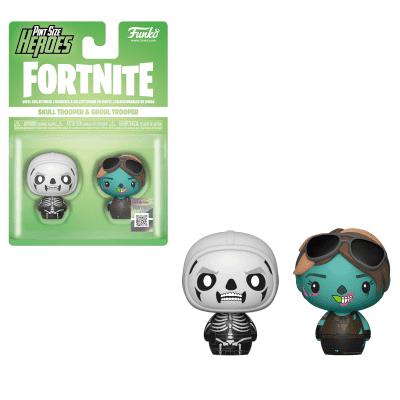 Fortnite Pint Size Heroes Skull Trooper And Ghoul Trooper 2-Pack FUNKO