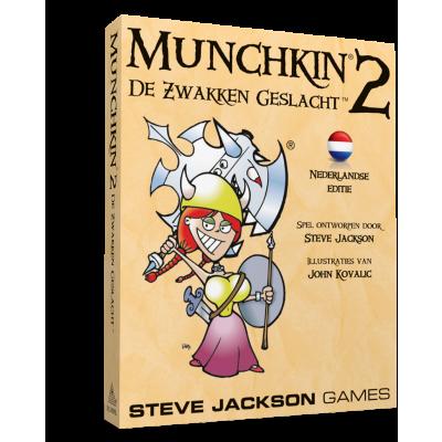 Foto van Munchkin 2 NL De Zwakken Geslacht BORDSPELLEN