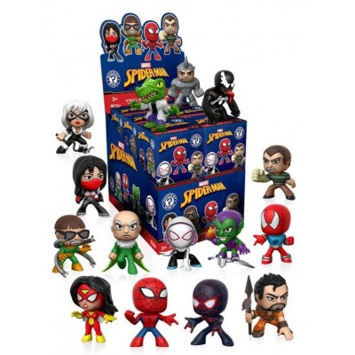 Funko Mystery Minis: Marvel Spiderman Vinyl Bobble Heads FUNKO