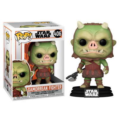 Pop! Star Wars: The Mandalorian - Gamorrean Fighter FUNKO