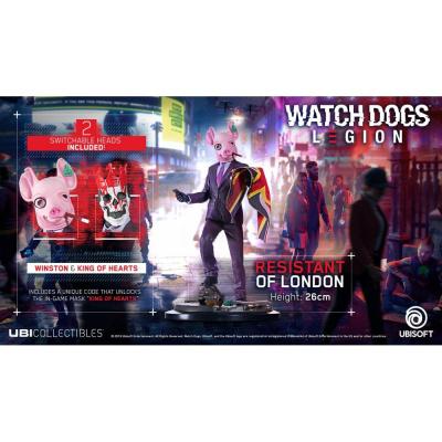Watch Dogs: Legion - Resistant Of London Figurine MERCHANDISE