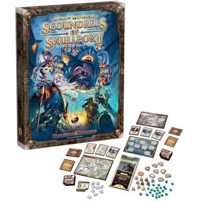 D&D Scoundrels Of Skullport Board Game Expansion DUNGEONS & DRAGONS