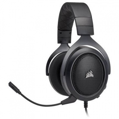 Foto van Corsair Hs50 Stereo Gaming Headset Carbon (Pc/Ps4/Xone/Switch/Mobile) PS4