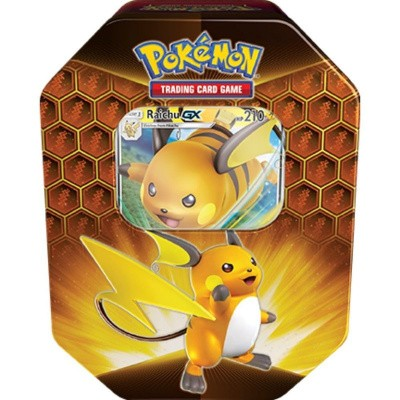 TCG Pokémon Hidden Fates Tin - Raichu-GX POKEMON