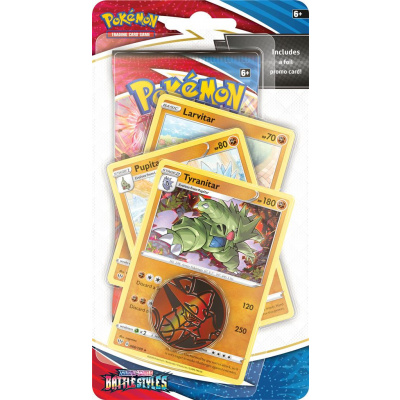 TCG Pokémon Sword & Shield Battle Styles Premium Checklane Booster - Tyranitar POKEMON