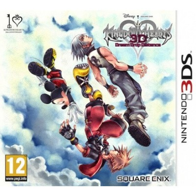 Kingdom Hearts 3D Dream Drop Distance 3DS