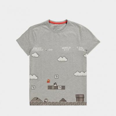 Nintendo - 8Bit Super Mario Bros Men's T-shirt - L
