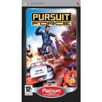 Foto van Pursuit Force (Platinum) PSP