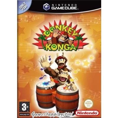 Foto van Donkey Konga Nintendo GameCube
