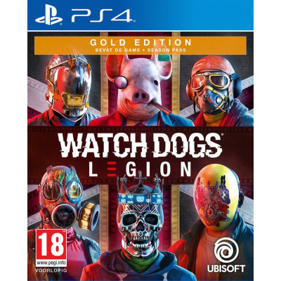 Foto van Watch Dogs: Legion - Gold Edition PS4