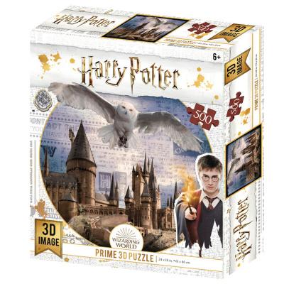 Harry Potter: Hedwig and Hogwarts Prime 3D puzzle 300pcs PUZZEL