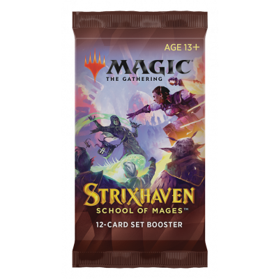 TCG Magic The Gathering Strixhaven Set Booster Pack MAGIC THE GATHERING