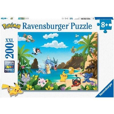 Foto van Ravensburger Pokémon Puzzle 200pc XXL PUZZEL