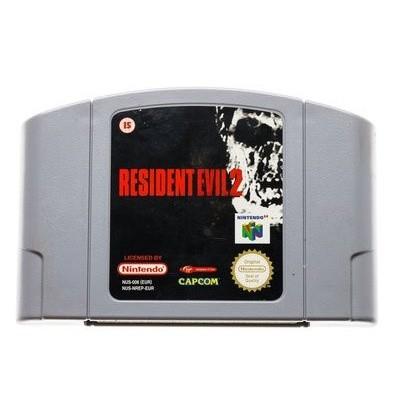 Foto van Resident Evil 2 N64