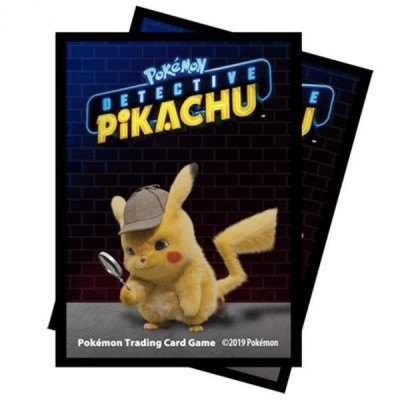 TCG Detective Pikachu Sleeves - Detective Pikachu POKEMON