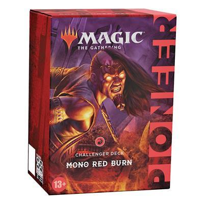 Foto van TCG Magic The Gathering Pioneer Challenger Deck 2021 - Mono Red Burn MAGIC THE GATHERING