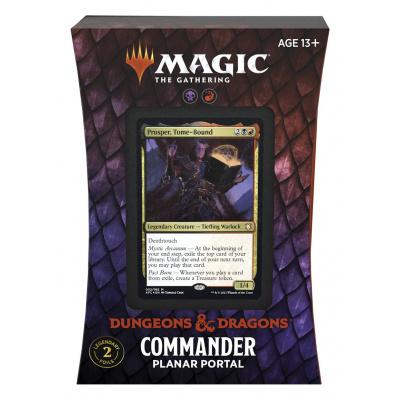 Foto van TCG Magic The Gathering D&D Forgotten Realms Commander Deck - Planar Portal MAGIC THE GATHERING